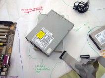 Lector y grabador de discos