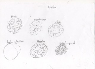 Texturas por Aralis, 6 años.