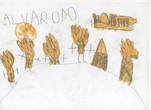 Álvaro, 5 años