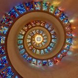 Vidriera en Iglesia de Dallas, EEUU