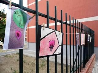 Expo al aire libre punto de belleza I